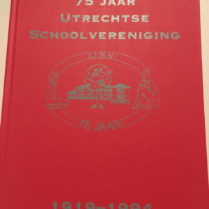 lustrumboek USV school Utrecht Kaft
